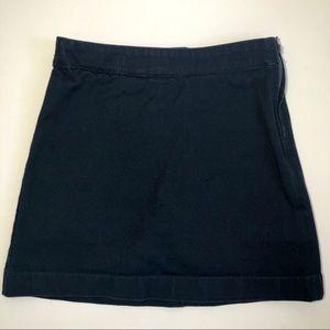 Lands' End Girls Uniform Navy Blue Skort Sz 7 Slim